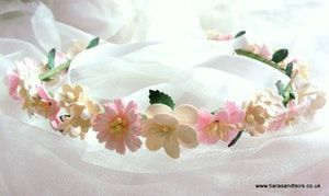 Bridesmaid flower halo crowns - product images  of