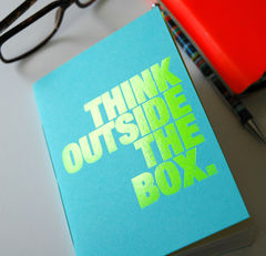 Bright,Ideas,Loud notebook, notebook, neon, Bookery, recycled paper
