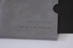 Grey,Matter:,Arguing,with,Descartes,Grey Matter, Heather Weston, bookery, book art, artists book, Descartes