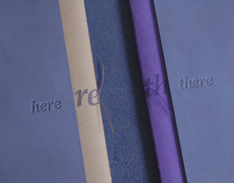 Ebb & Flow (double notebook wrap) - PERSONALISED - product images  of