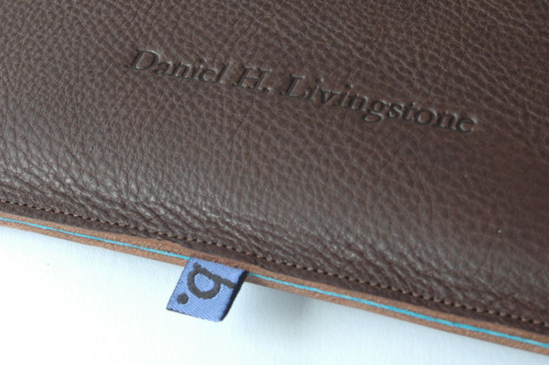 Classic Leather Sleeve for iPad (personalised) - product images  of