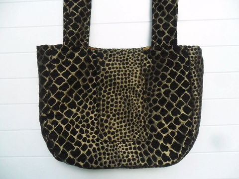 Brown,Chenille,Metallic,Gold,Purse