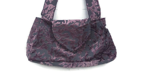 Purple,Cut,Velvet,Handbag,Hobo,Bag,Boho,Bags_And_Purses,bags_and_purses,shoulder_bag,velvet_bag,handbag,velvet_purse,cut_velvet_bag,hobo_bag,womens_bag,teens_bag,boho_bag,cut velvet