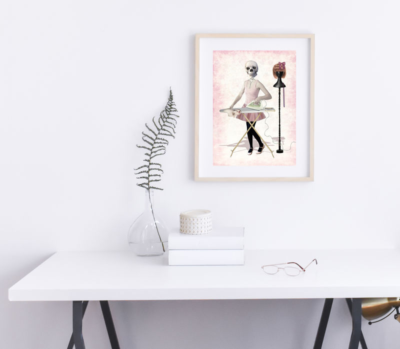 Creepy Cute Art Print - Girls Night Out - product image