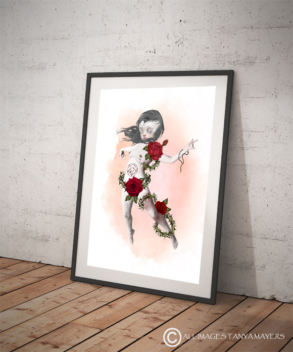 Possessed Girl Art Print - The Possession - product image
