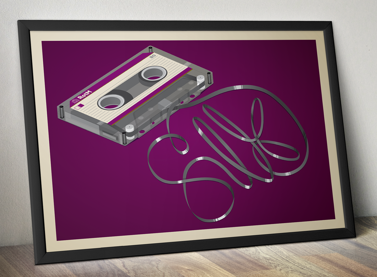 SiLK Cassette Poster - product image