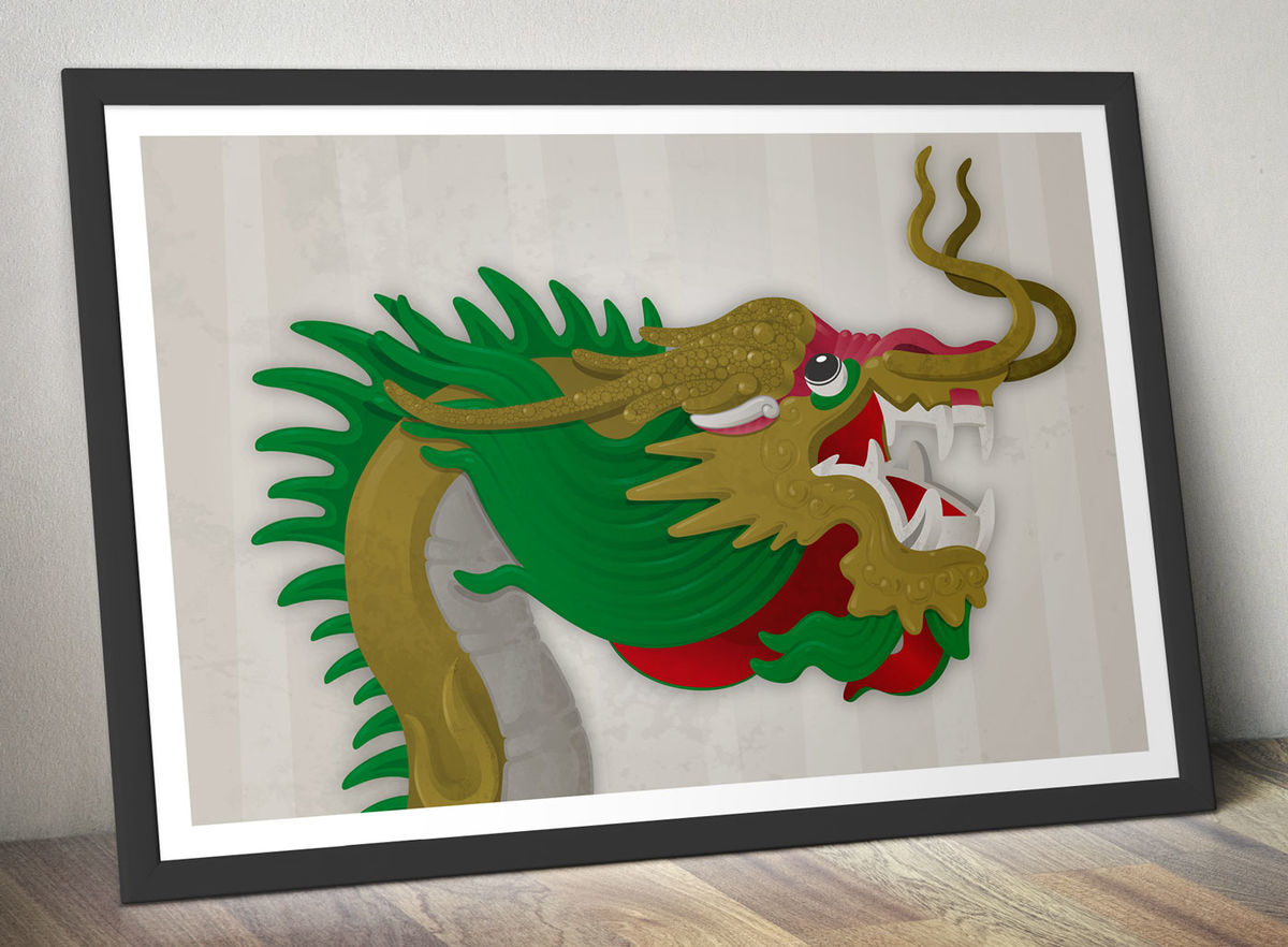 Chinese Dragon Poster - product image