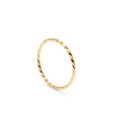 SKINNY,TWIST,STACKING,RING,-,GOLD