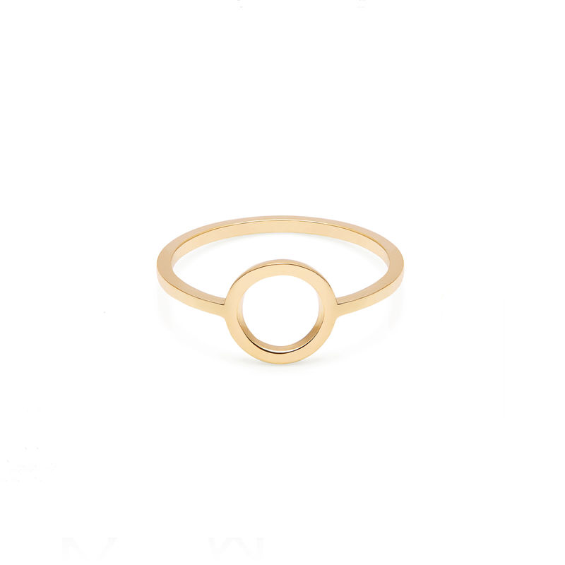 CIRCLE RING - GOLD - product image