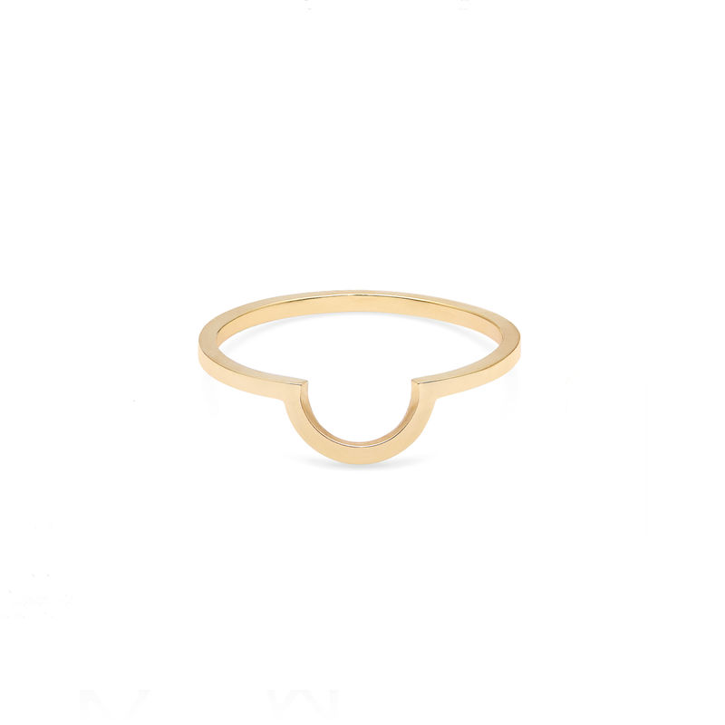 ARC RING - GOLD - product image