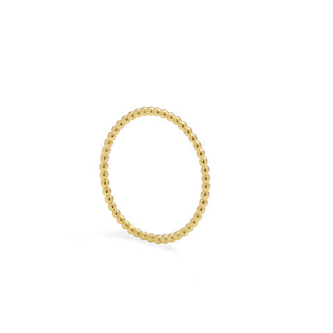 SKINNY,BALL,STACKING,RING,-,GOLD