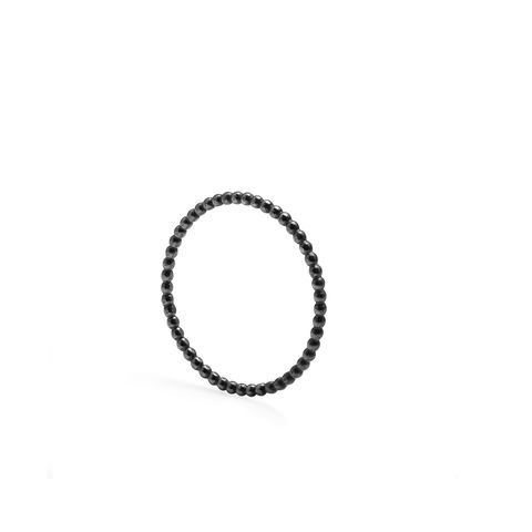 SKINNY,BALL,STACKING,RING,-,BLACK