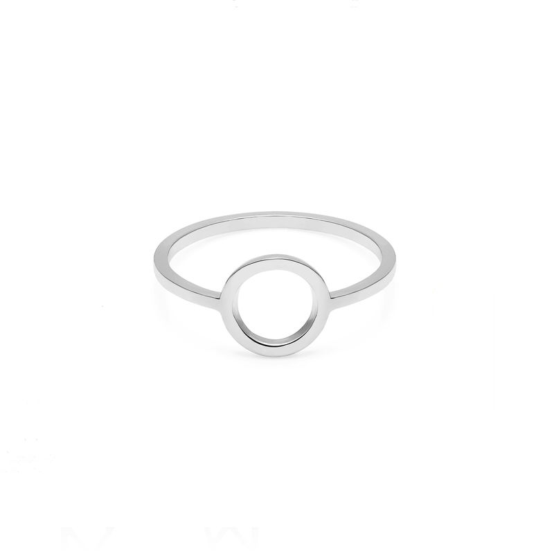 CIRCLE RING - SILVER - product images  of
