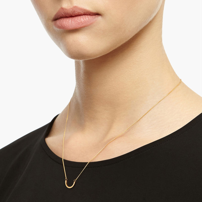 ARC NECKLACE - GOLD - product image