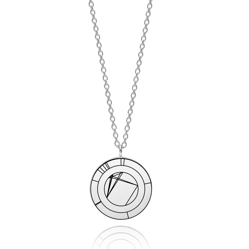 NATAL NECKLACE - SILVER / PERSONALISED - product images  of