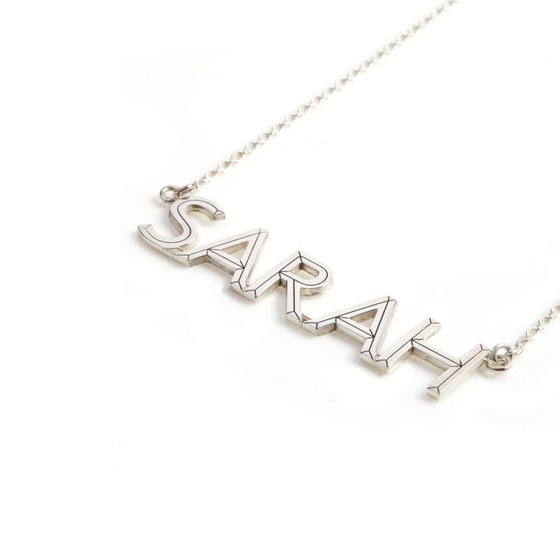 FACETT NAME NECKLACE/ PERSONALISED - product image
