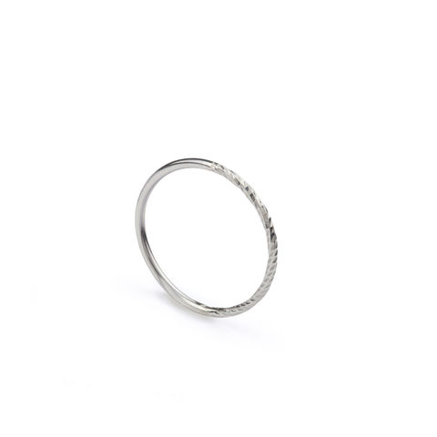 50/50,DIAMOND,ROUND,STACKING,RING,-,SILVER,stacking ring, half half ring, silver diamond ring, contemporary jewellery, myia bonner, silver stacking ring