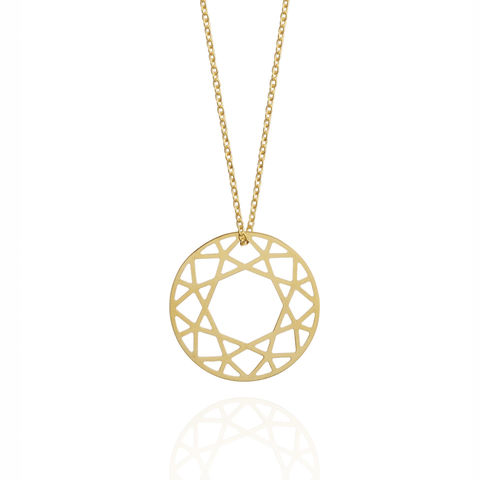 MEDIUM,BRILLIANT,DIAMOND,NECKLACE,-,GOLD