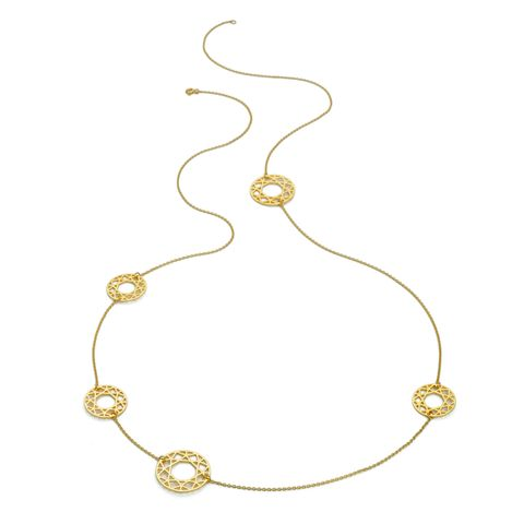 MULTI-BRILLIANT,DIAMOND,NECKLACE,-,GOLD