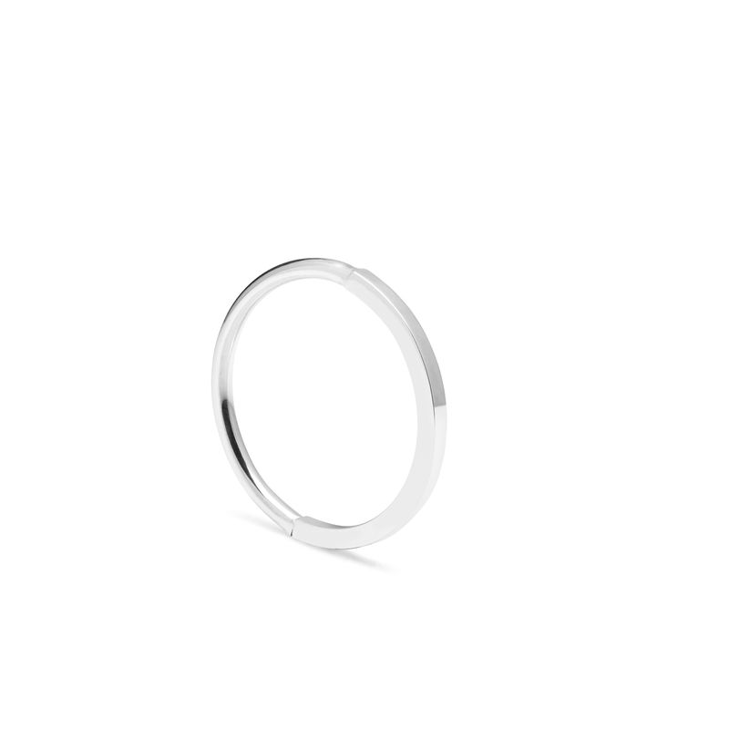 50 ROUND / 50 SQUARE STACKING RING - SILVER - product images  of