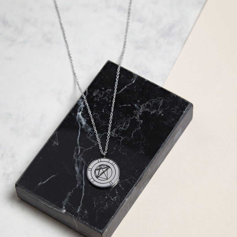 NATAL NECKLACE - SILVER / PERSONALISED - product image