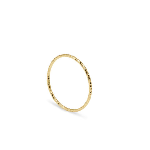 ULTRA,SKINNY,DIAMOND,STACKING,RING,-,GOLD