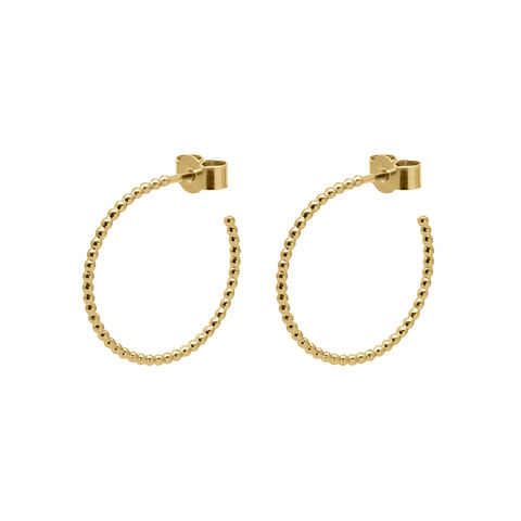MEDIUM,BALL,HOOP,EARRINGS,-,GOLD