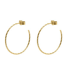 LARGE,DIAMOND,HOOP,EARRINGS,-,GOLD