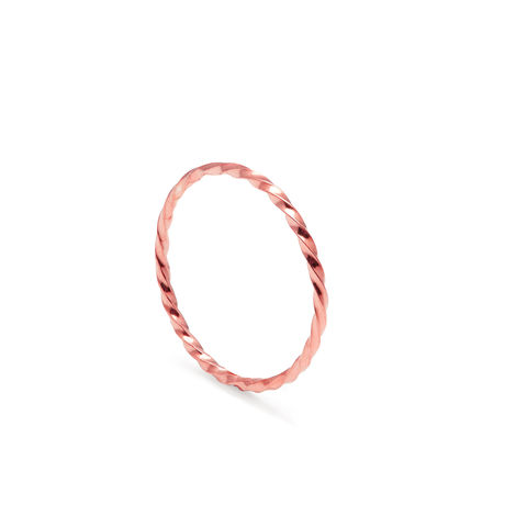 SKINNY,TWIST,STACKING,RING,-,9CT,ROSE,GOLD,rose gold ring, Twist ring, Rose gold twisted ring, Rose gold wedding ring