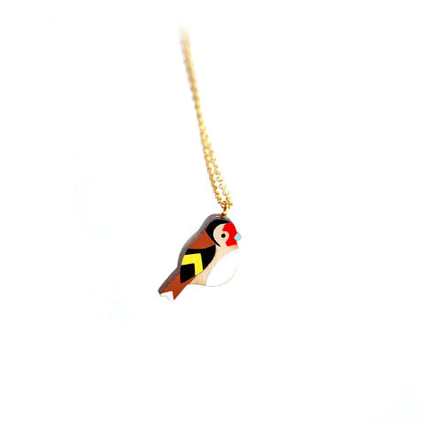 Wooden,Goldfinch,necklace.,Jewelry,Necklace,wooden_bird_necklace,bird_jewellery,wooden_pendant,wooden_necklace,wooden_bird,cute_jewellery,necklace,bird_necklace,goldfinch