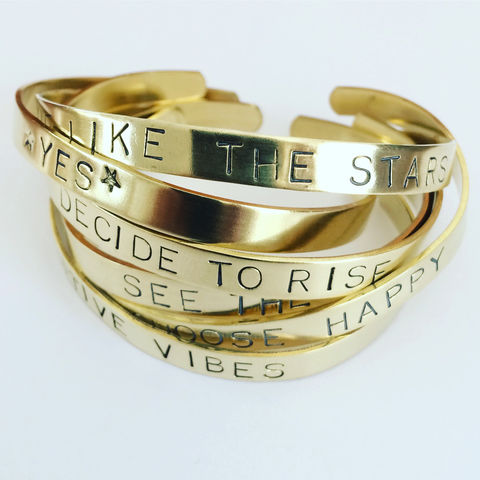 Positivity,Cuffs,in,Golden,Brass,mood_cuff,mood_enhancing,mood_jewellery,positivity_,positive_vibes_,mental_health_,couple_cuff,friendship_cuff_,love_cuff,uplifting_words_,quote_cuff,gold_cuff,brass_cuff_