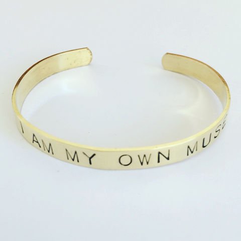 I,Am,My,Own,Muse,Brass,Cuff,Frida Kahlo, muse,quote_cuff,brass_cuff,gold_cuff,uplifting_words,love_cuff,positive_vibes,positivity,Intention_cuff,Affirmation_cuff,Mexican,POSITIVE_CUFF,POSITIVE_JEWELLERY