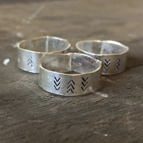 DIRECTION,Sterling,Silver,Rings,Sterling silver ring rings chevron organic chunky ring jewellery