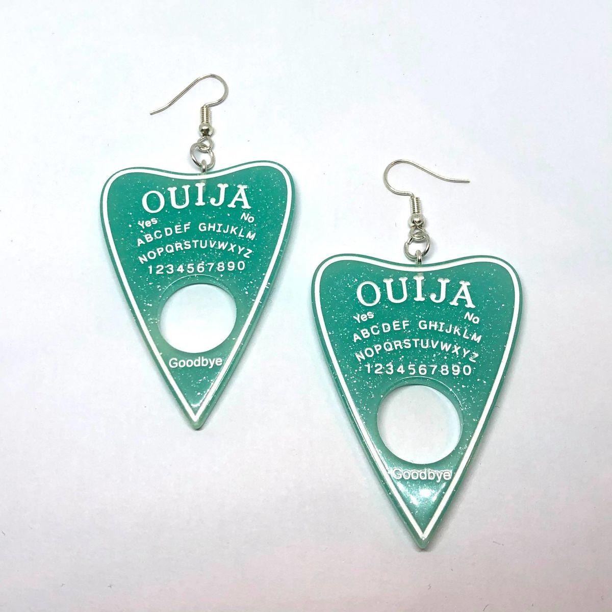 Ouija red earrings