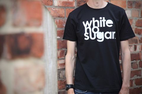 Whitenosugar,100%,Organic,Cotton,t-shirt, dri-release, tech tee, whitenosugar