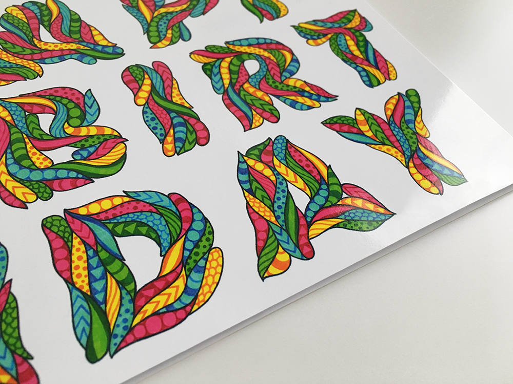 Birthday Card: Multi - product images  of