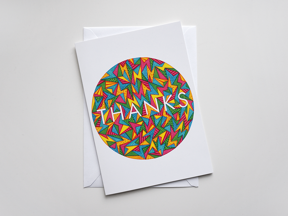 Thank You Card: Multi - product images  of
