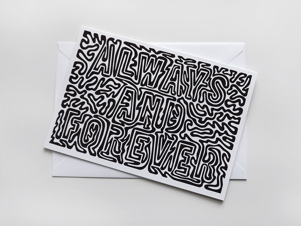 Love Card: Mono - product images  of