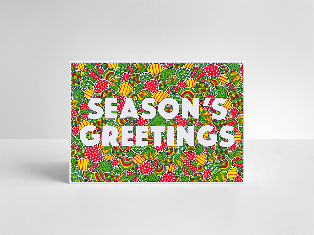Season's Greetings Cards Pack - product image
