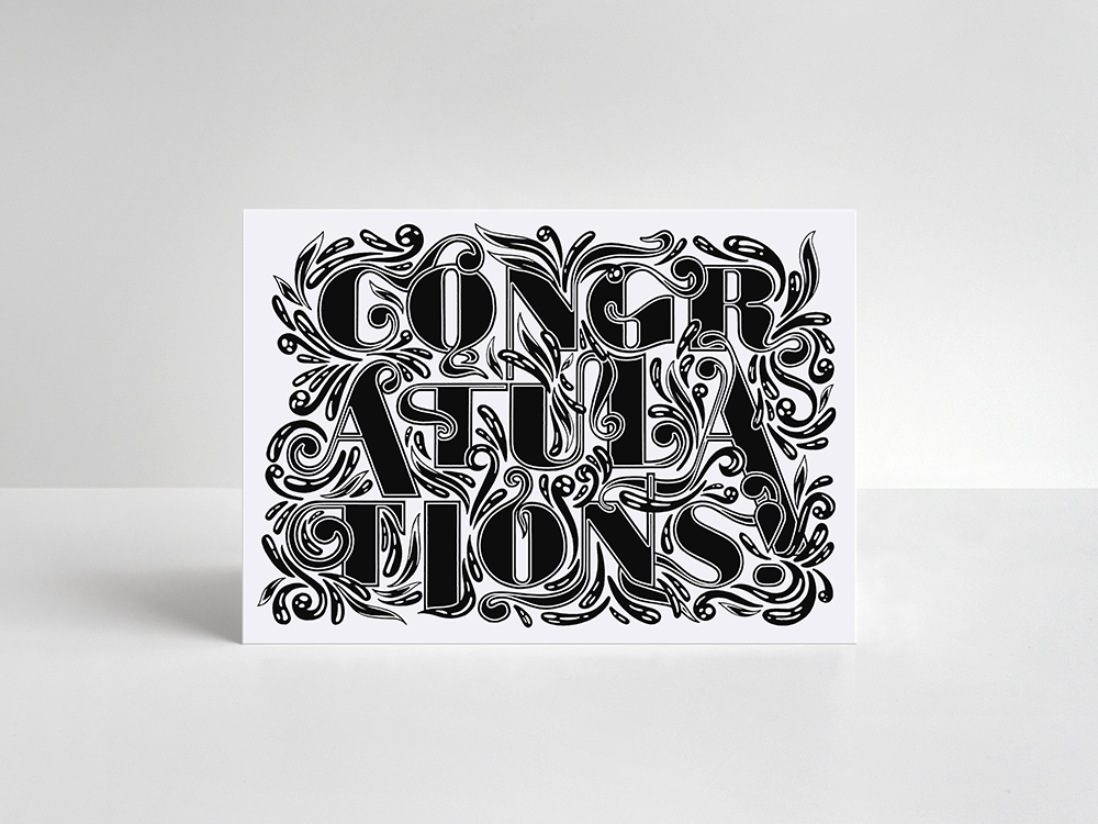 Congratulations Card - product image