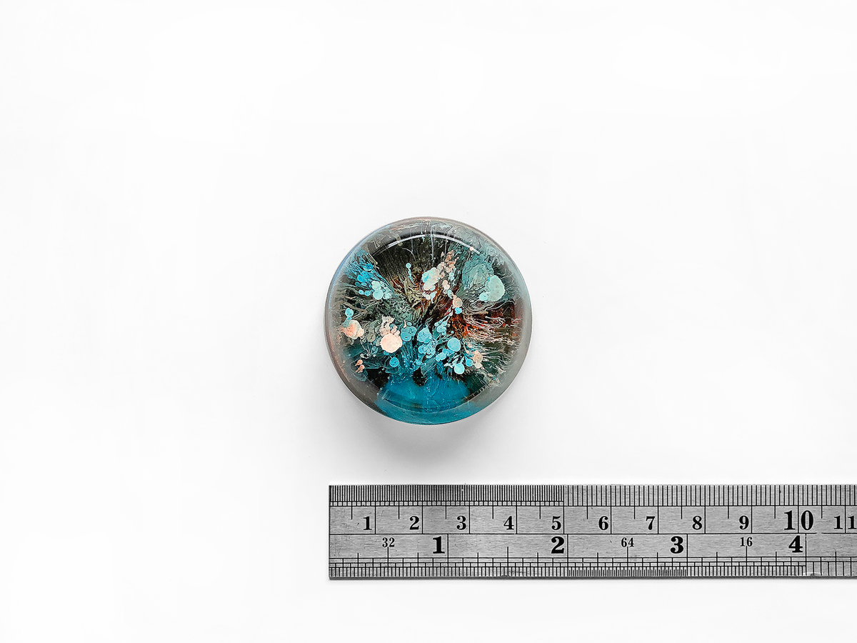 Resin Petri Magnet: HAI - product images  of