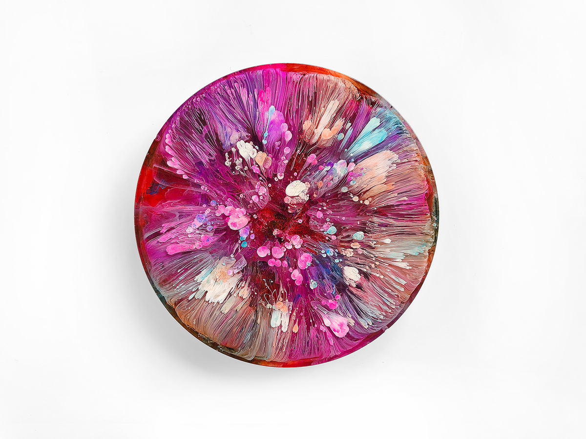 Resin Petri Art: VIOLA - product image