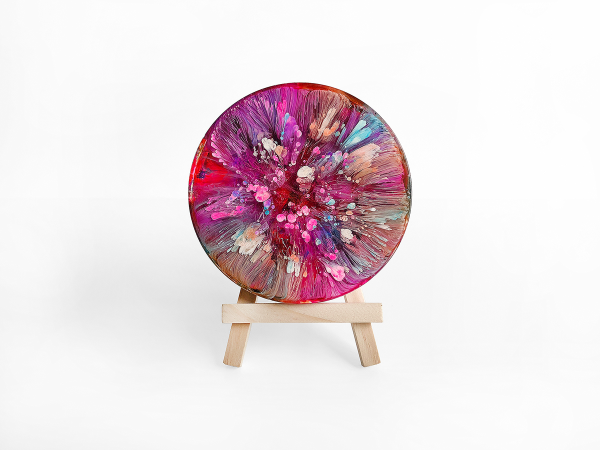 Resin Petri Art: VIOLA - product images  of