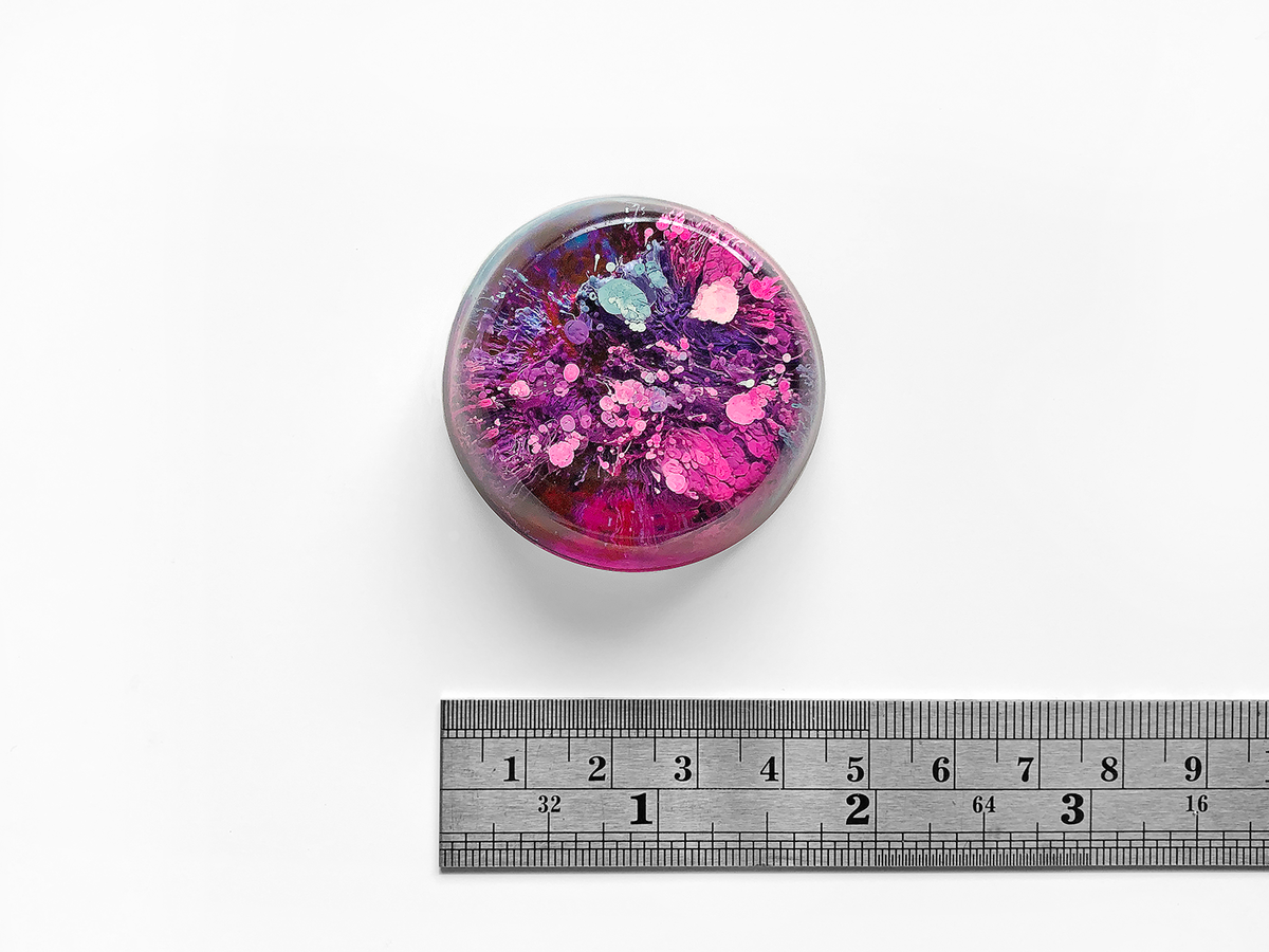 Resin Petri Magnet: IVA - product images  of