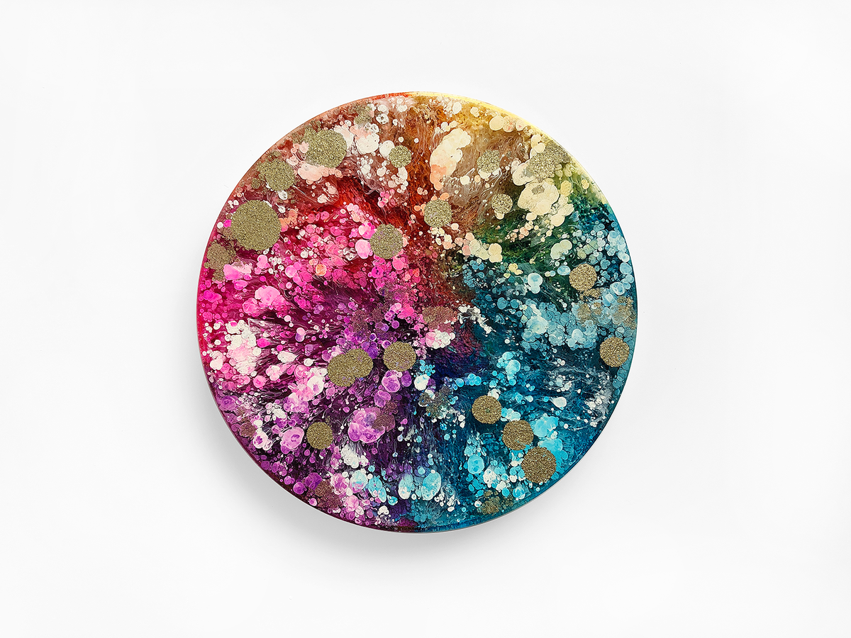 Resin Petri Art: NAOMI - product image
