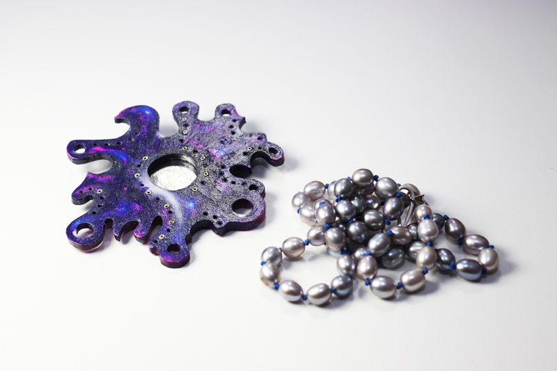 Synaesthetic Fragments Necklace/Brooch Series no.4  - product image