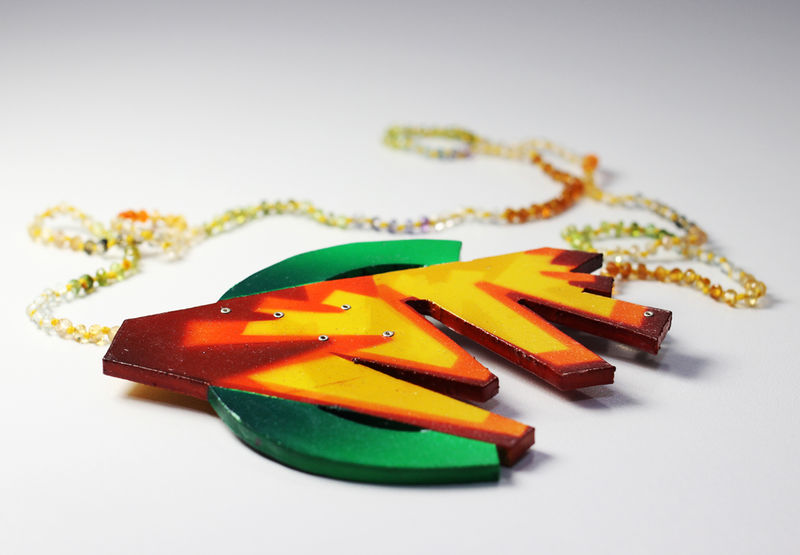 Synaesthetic Fragments Necklace/Brooch Series no.9 - product image