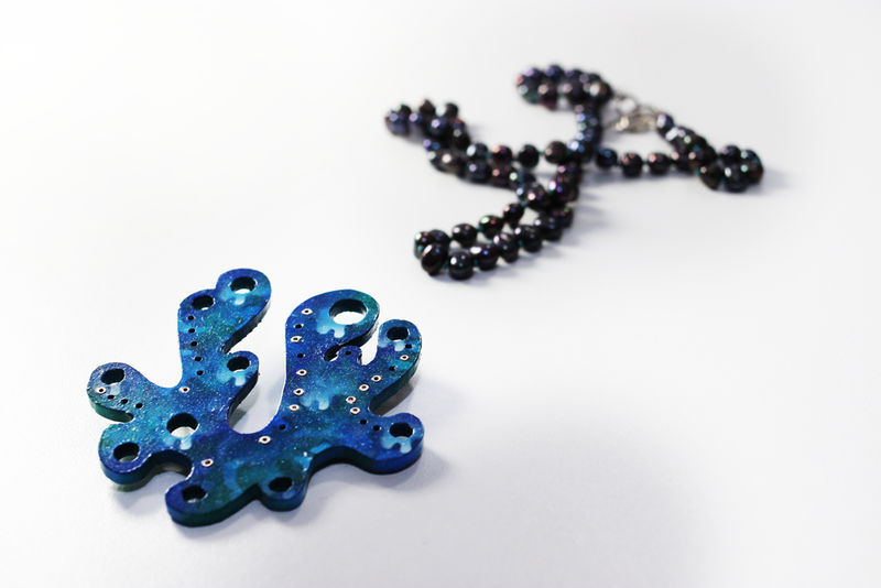 Synaesthetic Fragments Necklace/Brooch Series no.10 - product image