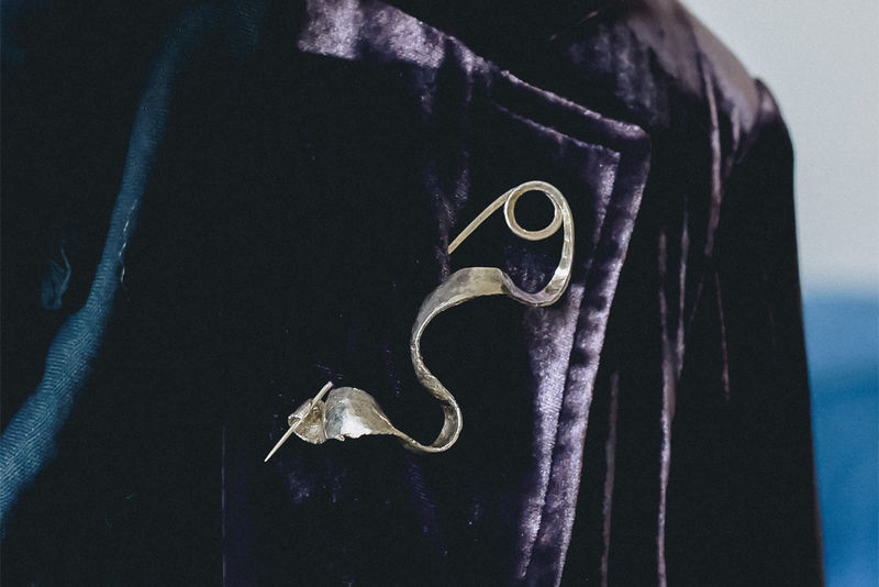 Guitar Distortion Brooch no.2 - product image