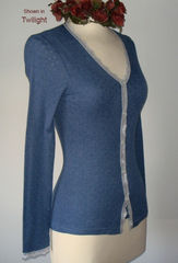 Now 75% Off!! Our Petite Scallop Lace Cardigan - product images 4 of 8